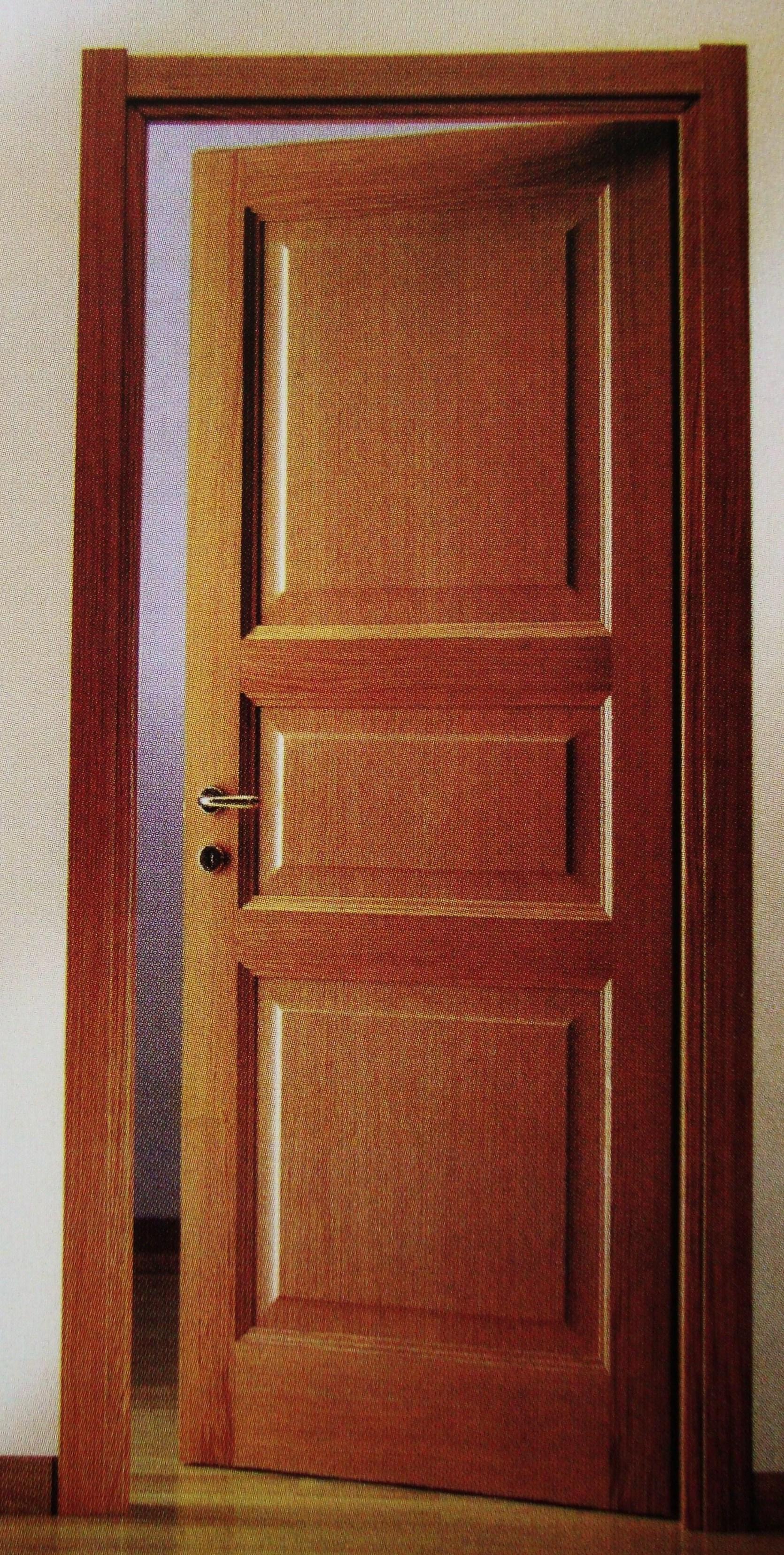 Falegnameria porta s n c porte - Porta in legno tamburato ...